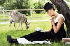 Chic Amish-Inspired Fashion - The ELLE Ukraine Photoshoot Stars Yuliana Dementyeva