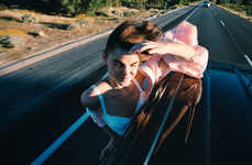 Fantasy Roadtrip Editorials - The Muse Magazine 'Wildflower' Photoshoot Stars Bambi Northwood-Blyth