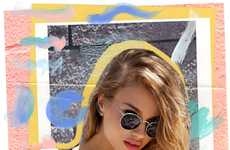 Urban Collaged Lookbooks - The Nasty Gal Catalog Stars a Casual Chic Mathilda Bernmark