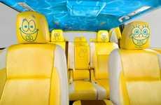 Iconic Cartoon Concept Vehicles - Visit SpongeBob SquarePants in His Concept 2014 Toyota Highlander