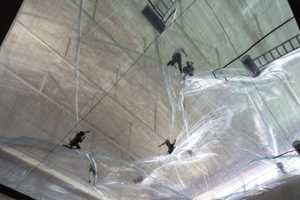 Tomas Saraceno's Bubble Sculptures Show Impacts on Environment