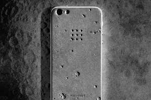 The Luna iPhone 5 Case Draws Influence From the Moon and a Composite