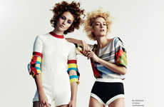 Roller Derby-Inspired Editorials