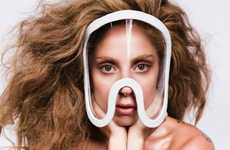 Masked Album-Amping Imagery - The First Image for the New Lady Gaga Album is Generating Hype Early