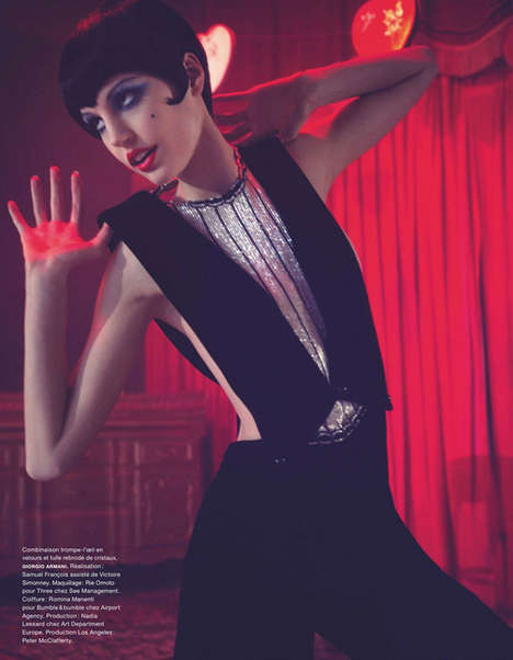 Theatrical Fashion Editorials