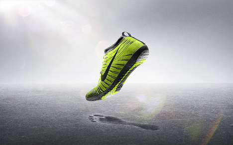 Ground-Sensitive Footwear - The Nike Free Hyperfeel Does Away With Extra Padding on the Sole