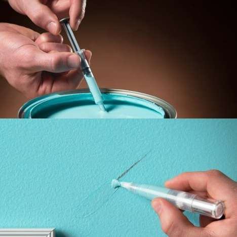 Miniature Pen-Like Paintbrushes - The Paint Retouching Pen Makes Covering Up Scuffs Simple and Quick