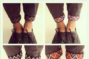 Easily Amp up Any Look with AEON's Printed Ankle Cuffs for Pants