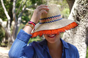 Turn an Ordinary Hat into a Chic Summer Accessory with This Guide