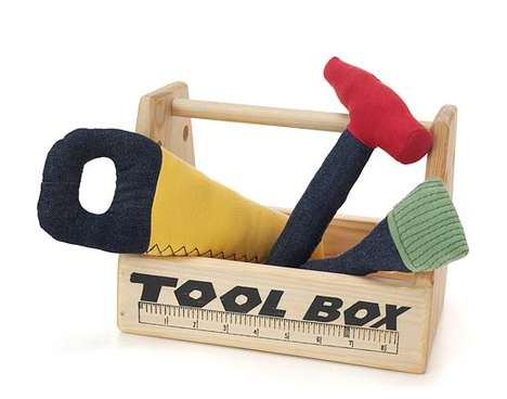 Organic Baby Toys - This Tool Play Set is Fun and Safe for Your Young Ones