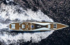Luxe Self-Sustaining Yachts
