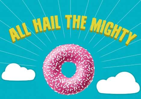 Wacky Donut Fact Infographics - This Infographic Offers Up Unknown Glazed Donuts Facts