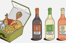 Rapid Gourmet Delivery Apps - The L'appero App Delivers On Demand Foodie-Friendly Packages