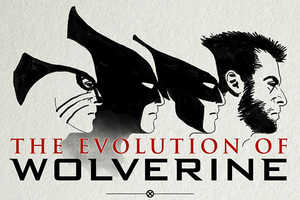 This Infographic on the History of Wolverine Concepts is MARVELous