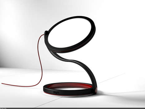 Number-Inspired Table Lamps - The 8light by Dongsung Jung is Conveniently Curvaceous