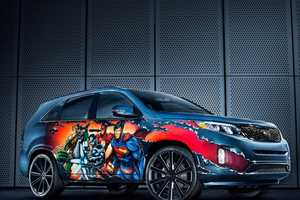 This Kia Sorento has Been Turned Into a Justice League Vehicle