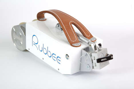 Attachable Bicycle Motors - The Rubbee Electric Drive Turns Any Bike into an Electric Bike