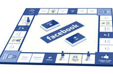 Social Media Board Games  - This Board Game Eliminates the Digital Boundaries of Facebook