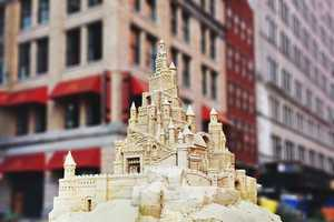 The Matt Long Giant Sand Castles Found Their Way to New York City