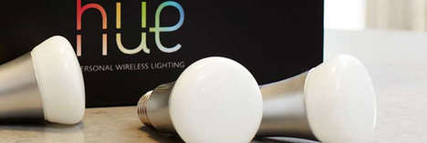 Intuitive LED Light Bulbs - The Phillps HUE Lightbulb Will Revolutionize How We Light our Homes