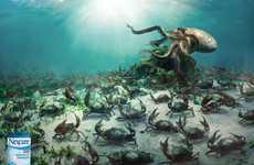 Seafaring Creature Combat Ads