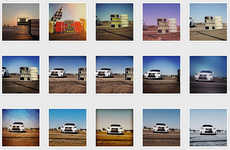 Crowdsourced Car-Capturing Videos - This Lexus Ad Campaign Stitched Together People's Instagram Pics