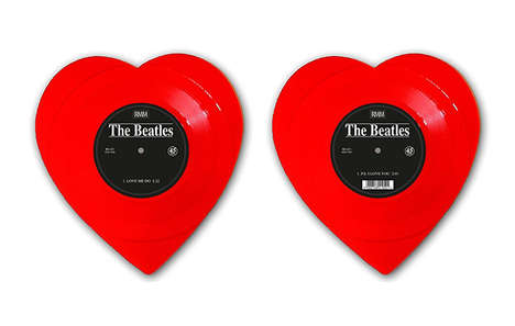 Heart-Shaped Singles - The Beatles