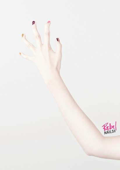 Rebel Nails campaign