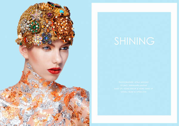 Encrusted Beauty Editorials