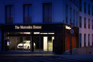 The Mercedes House Serves Mercedes-Inspired Meals in Style