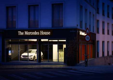 Sports Car-Inspired Restaurants - The Mercedes House Serves Mercedes-Inspired Meals in Style