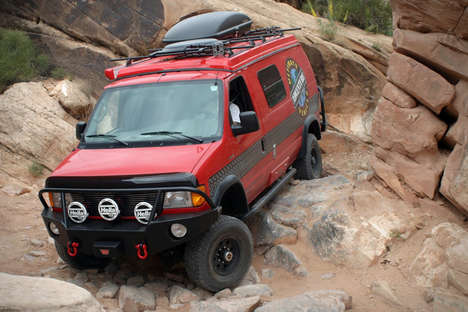 RV-Inspired SUVs - The Sportsmobile Ultimate Adventure Vehicle Combines Comfort with Adventure