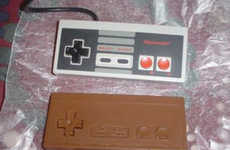 Vintage Video Game Chocolates - These Chocolate Molds Resemble Retro Game Controllers