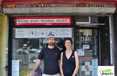 Sandra Goldmark, Creator of Pop Up Repair (INTERVIEW) - An Eco-Friendly Mending Store