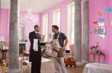 Royal Baby Beer Commercials - This Carling Beer Ad Shows the Royal Baby's Decorator Under Pressure
