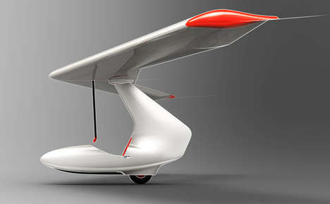 Budget-Efficient Foam Gliders - This Glider Design by Alexander Shevchenko Costs Less to Repair