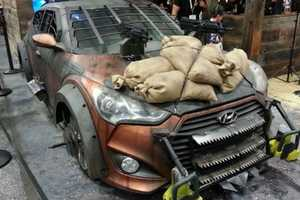 This Hyundai Veloster is Perfectly Equipped to Help Fight Zombies