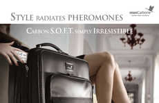 Luxury Carbon Fiber Luggage - 'monCarbone' is Perfect for the Elite Traveler