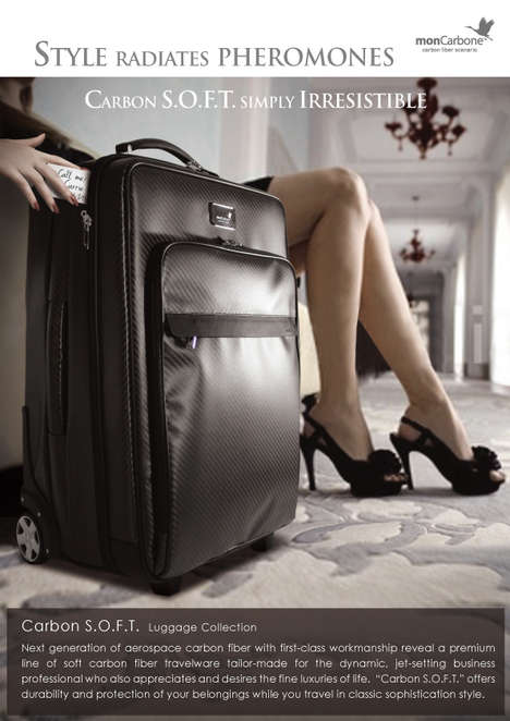 Luxury Carbon Fiber Luggage -