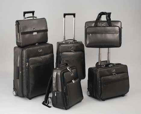 luxury travel luggage
