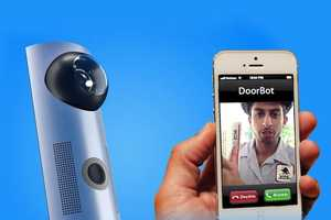 The Doorbot Door Bell Lets Users Answer the Door from Their Phone
