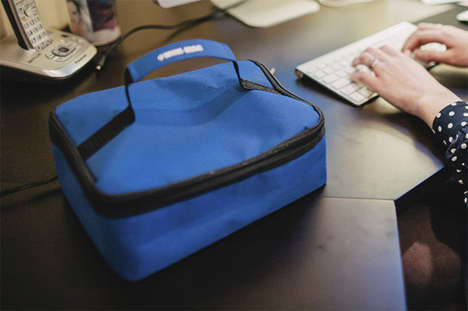 Plug-In Oven Totes - The HotLogic Mini Oven is a Lunch Bag that Warms Up Your Food