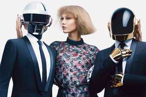 This US Vogue August 2013 Shoot Features Daft Punk