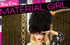 Rita Ora is the New Face of 'Material Girl' Fall 2013 Collection