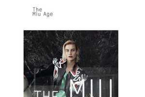 This Dazed and Confused August 2013 Editorial Celebrates Miu Miu
