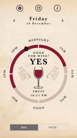 Moon-Conscious Drinking Apps - This Wine Tasting App Advises Drinking Based on the Lunar Calendar