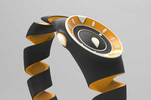 This Flexible Watch Design is Suitable for the Visually Impaired