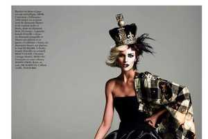 This Vogue Paris August 2013 Spread is Both Good and Punk