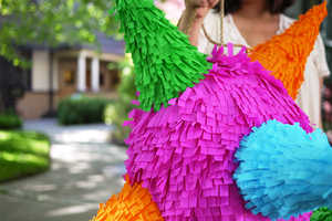 This DIY Teaches You How to Make Your Own Colorful Paper Mache Pinata