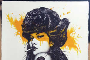 These Street Artworks Focus on Women and Include Blotches of Color